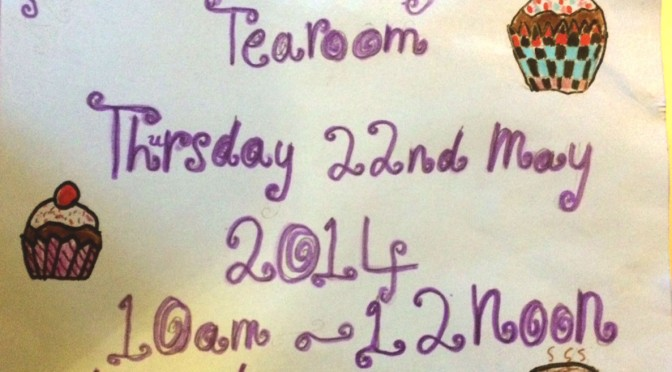 @KilmodanPS Tearoom on Thursday, 22nd May, 10am-12 noon with Local Crafts and cupcakes!