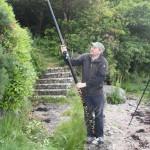 Stuart with the magic pole