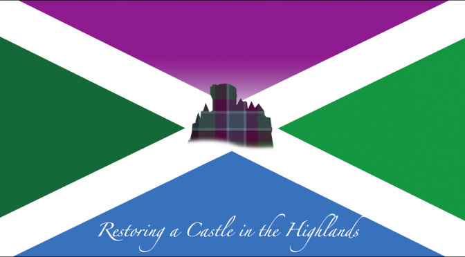 The Design for the new Flag for the @DunansCastle Project is finalised!