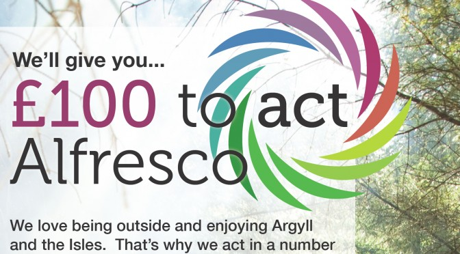 Act Alfresco: Help promote our gorgeous neck of the woods