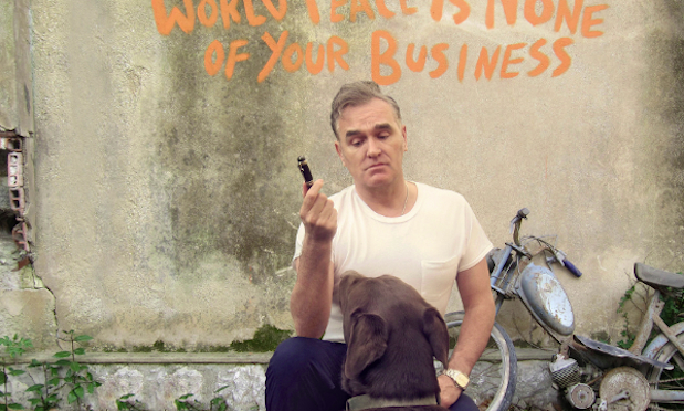 World Peace is None of Your Business: @Morrissey back on form and it's #onmyplaylist