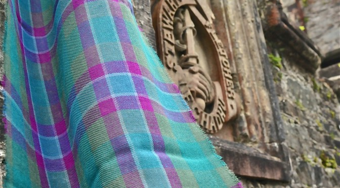 Fine New Wool Dunans Rising Scarves at ScottishLaird.com – just beautiful!