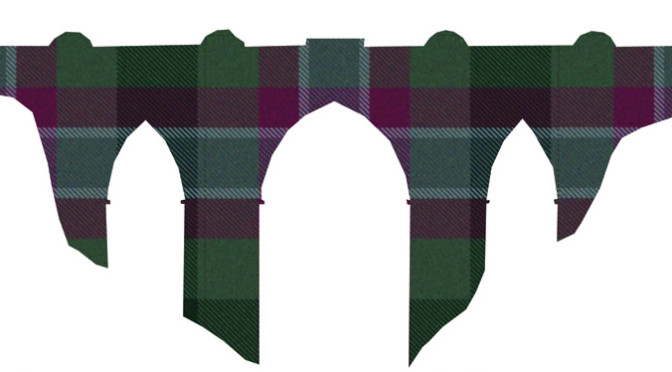 New Logo: The Dunans Bridge Bicentenary Restoration gets its own Dunans Rising tartan logo!