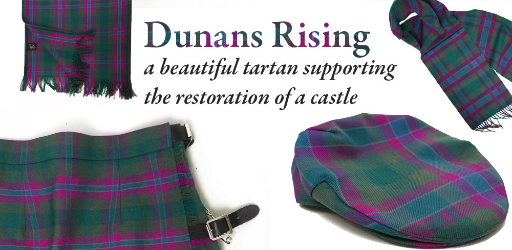 Image result for DUNANS RISING TARTAN