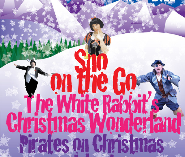 It's Christmas! A festive Pantos-on-the-Go poster for @twtc which I've just designed …